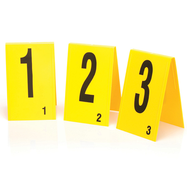 Photo Evidence Marker 21 40 Yellow 20 Pcs Welcome By Loci Forensics B V Products Training Consulting