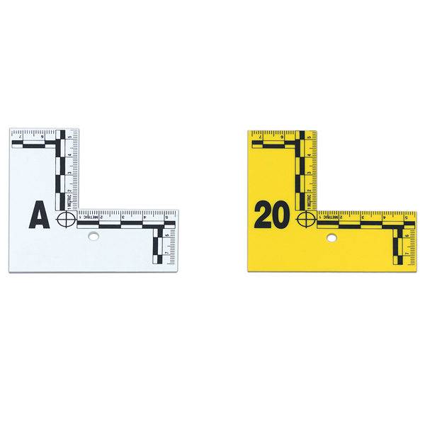 L Shaped Flat Id Marker A Z White 26 Pcs Welcome By Loci Forensics B V Products Training Consulting